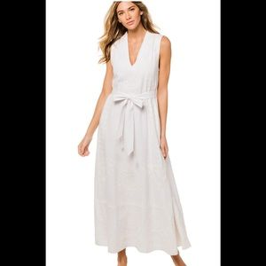 Roberta Roller Rabbit Linen maxi dress w/o belt